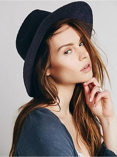 Free People Anderson Canvas Hat, $48.00