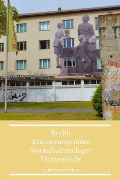 Berlin: Erinnerungsstätte Notaufnahmelager Marienfelde Felder, Eastern Europe, Berlin Wall