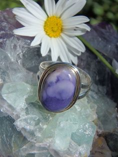 """Purple Haze Tiffany Stone Ring in Sterling Silver (Size 8) *REDUCED"""