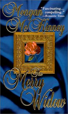 US cover for The Merry Widow by Meagan McKinney
