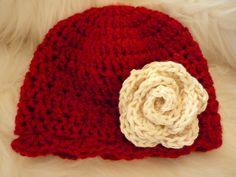 baby beanie Beanie, Crochet, Hats, Fashion, Moda, Hat, Fashion Styles, Beanies, Knit Crochet