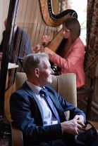 Celtic Notes from the Harp in Gougane Barra Hotel sitting room Harp, Romantic Weddings, Celtic, Notes, Album, Room, Bedroom, Report Cards, Notebook