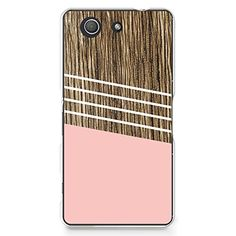 CasesByLorraine Wood Print Coral Pink Geometric Striped PC Case Hard Back Case Cover for Sony Xperia Z3 Compact (G02) CasesByLorraine http://www.amazon.com/dp/B00TPHJKPU/ref=cm_sw_r_pi_dp_sct-ub14XGWPZ