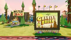 Gravity Falls Power Disc Trailer Released Showing Interiors and Alice Vehicle - http://disneyinfinity.tv/blog/gravity-falls-power-disc-trailer-released-showing-interiors-and-alice-vehicle/