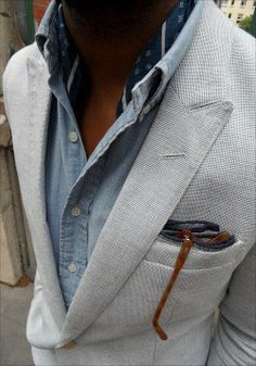 Cool mix of casual  & semi formal