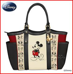 6e4bd8fd002 Disney Weekender Shoulder Tote Bag Mickey Mouse And Minnie Mouse