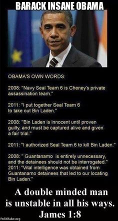"He NEVER referred to SEAL Team 6 as Dick ""Cheney's private assassination team."" He NEVER claimed he had ""put together"" the SEAL team unit that carried it out.  He NEVER said ""Bin Laden is innocent until proven guilty, and must be captured alive and given a fair trial."" In fact, he said just the opposite. He said he would close it,  However, he never said ""detainees should not be interrogated,"" It'd possible that they received intelligence, but he never said so."
