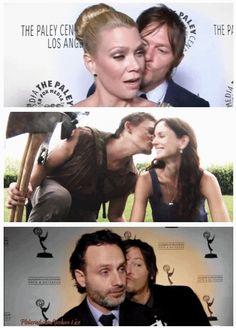 Daryl's got a lotta love to share...