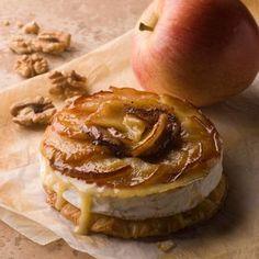 Recette : Tatin de camembert aux pommes - Recette au fromage