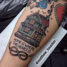 Great Tattoo by Matthew Houston. See More :: https://www.swallowsndaggers.com/awesome-tattoos-304/?utm_content=bufferebab7&utm_medium=social&utm_source=pinterest.com&utm_campaign=buffer #tattoo #tattoos
