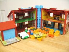 Would love some old style little people sets for my room.  I spent hours playing with these as a kid.