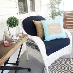 Turn your home into a #beachside #getaway, just like @theprettynest! #Ross4Home