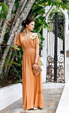 O vestido mais lindo da Maria Filó até hoje.