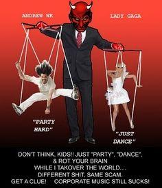 illuminati puppets