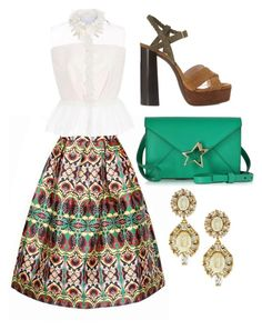 """Untitled #730"" by meryem-mess ❤ liked on Polyvore featuring WithChic, Lanvin, Corto Moltedo, Delpozo and Kate Spade"