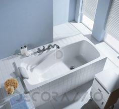 #bath #bathroom #interior #design Акриловая ванна Duscholux Ancona, 603.118000