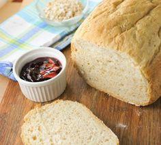 Pão Proteico com Quinoa | Máquina de Pão. Ficou duro e massudo: creio que é pelo excesso de gordura