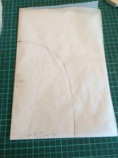 Hej! Idag tänkte jag visa och förklara för er hur jag gör när jag ritar ett eget mössmönster. Jag ritar mina mönster på vanligt smörpapper som man kan köpa i mataffären. (När jag ritar av mönster i…