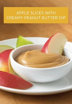 Try this easy and delicious Apple Slices with Creamy Peanut Butter Dip recipe—made with just 4 ingredients!