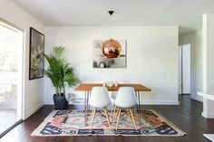 You're not going to believe this, but that rug was a Craigslist find!