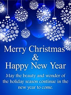 Send Free Shining Blue Merry Christmas Card to Loved Ones on Birthday & Greeting Cards by Davia. It's free, and you also can use your own customized birthday calendar and birthday reminders. Merry Christmas Quotes Wishing You A, Funny Christmas Messages, Christmas Wishes Quotes, Merry Christmas Message, Merry Christmas Images, Merry Christmas Greetings, Merry Christmas And Happy New Year, Christmas Humor, Christmas Cards