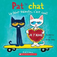 """Read """"Pete the Cat: Valentine's Day Is Cool"""" by Kimberly Dean available from Rakuten Kobo. New York Times bestselling author and artist James Dean takes us on an awesome trip with Pete the Cat as he discovers ju. Cat Valentine, Valentines Day Book, Valentine Special, Valentine Cards, Valentine Ideas, James Dean, Pete The Cat, Preschool Valentine Crafts, Kid Crafts"""