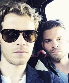 Joseph Morgan & Daniel Gillies