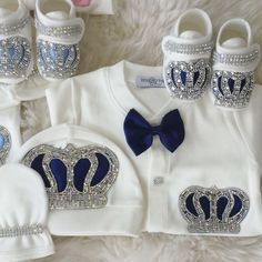 """Crown Jewels Set in 8 colors (video shows just 3 of the 8)  Shop: ittybittytoes.com (search """"Crown Jewels"""")"""