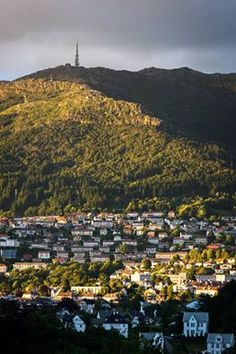 Ulriken mountain in Bergen