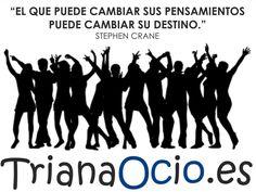 Participar en actividades nos mantiene activos, mejora nuestra autoestima y fortalece nuestro cerebro. Os invitamos a no dejar nunca de disfrutar de nuestro barrio. ¡Buenos días #Triana!   http://www.trianaocio.es/ Triana Ocio | Agenda de eventos y actividades del barrio de Triana, Sevilla.