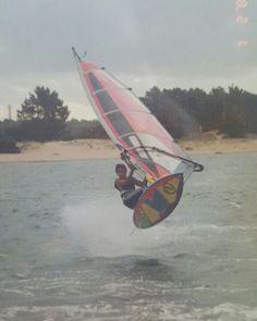 Windsurf en La Barra, Punta del Este