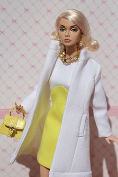 Poppy   by Isabelle from Paris Barbie Fashion Royalty, Fashion Dolls, Fashion Outfits, Barbie Images, Poppy Parker, Beautiful Barbie Dolls, Barbie Patterns, Barbie Collection, Handmade Clothes