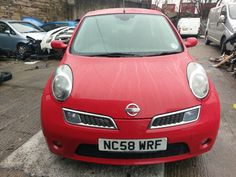 eBay: nissan micra tekna damaged salvage red damage cars #carparts #carrepair
