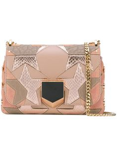 da79a9e606 GABRIELLE'S AMAZING FANTASY CLOSET | Jimmy Choo Star Embellished Small  Lockett Clutch with removable chain