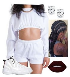 """Untitled #505"" by queen-sugah900 ❤ liked on Polyvore featuring Retrò, Auriya, Sessions and Lime Crime"