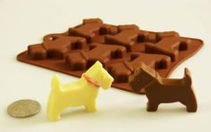Chocolate Westie Silicone Mould (Perfect For Easter) – The Westies Shop