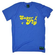Drowning Worms Men's Super Fly Fishing T-Shirt