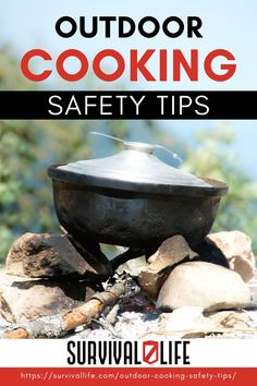 Cooking in the wilderness can be risky due to the possible predators that may be in the area. Most predators have an intense sense of smell and the thought of preparing and cooking a meal in the wilderness can be nerve-racking — but, you HAVE to eat. So, what can you do to keep yourself as safe as possible? #survivallife #survival #preparedness #survivalist #prepper #camping #outdoors #spring #outdoorsurvival #outdoorcookingsafety #outdoorcooking Survival Life, Camping Survival, Outdoor Survival, Survival Prepping, Survival Skills, Camping Bbq, Camping Outdoors, Camping Meals, Fire Cooking