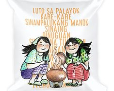 "Traditional Philippine cuisine were cooked in earthenware pots called ""palayok"". Kids from the 70s and earlier learn to cook from tiny toy palayoks"