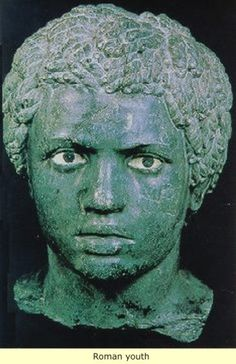Emperor Lucius Septimius Severus - an Ancient Roman soldier stationed in Egypt in the century B. Serverus was born in Leptis Magna in the province of Africa in and was Roman Emporer from 193 to Roman History, Art History, Tudor History, Ancient Rome, Ancient History, Art Romain, Roman Sculpture, Black History Facts, Strange History