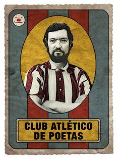 Julio Cortázar by Club Atlético de Poetas