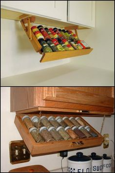 Under cabinet drawer Silverware Storage by WoodenYouLoveThis ...