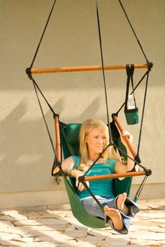 Delicieux Original Hammaka Hammock Chair (Wood Dowels)