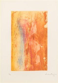 Helen Frankenthaler - Ganymede, 1978, Etching with...