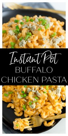 Instant Pot Buffalo Chicken Pasta is a super easy and fun way to enjoy the flavors of buffalo chicken! Buffalo Chicken Grilled Cheese, Buffalo Chicken Pasta, Buffalo Chicken Sandwiches, Chicken Pizza, Dinner Options, Dinner Ideas, Dinner Recipes, Spicy Recipes, Turkey Recipes