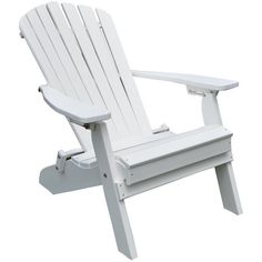 Amish Folding and Reclining Poly Adirondack Chair ($350) ❤ liked on Polyvore featuring home, outdoors, patio furniture, outdoor chairs, poly folding chairs, folding outdoor furniture, outdoors patio furniture, folding chairs and outdoor glider chair