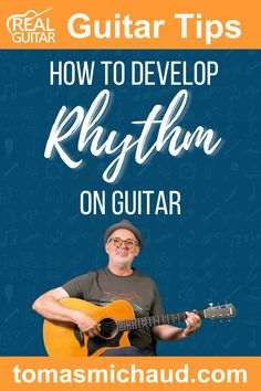 Playing on beat is a critical element of sounding good on the guitar. Unfortunately, it is elusive to many beginner guitar players. In this guitar lesson, I'm going to teach you a step-by-step approach to develop rhythm (play on beat) without struggle. You will need to do a bit of work upfront, but the work will pay off many times over. This is the guitar lesson I wish I had when I was a beginner guitar player. #learntoplayguitar #beginnerguitar #guitarlesson #howtoplayguitar Play Guitar Chords, Learn Acoustic Guitar, Learn To Play Guitar, How Its Going, Going To Work, Music Lessons, Guitar Lessons, Guitar Online, Guitar Tutorial