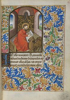 Bibliothèque de Genève, Livre d'Heures à l'usage de Paris, copié pour le diocèse de Nantes