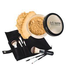 $29 thru livingsocial.com:  Travel Beauty Basics Kit - Travel Beauty Basics Kit - Kits - Makeup Sets Bella Terra Mineral Cosmetics