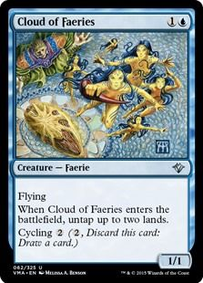 Esper Familiars by sparow visual deck list for Magic: the Gathering (MTG). Magic The Gathering Karten, Alternative Art, Collector Cards, Magic Cards, Summoning, Faeries, Deck, Creatures, Clouds